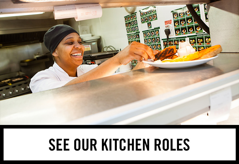Kitchen roles at Rock